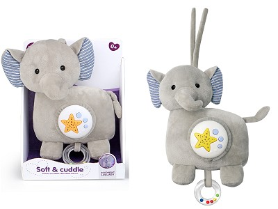 Plush Elephant With Projection