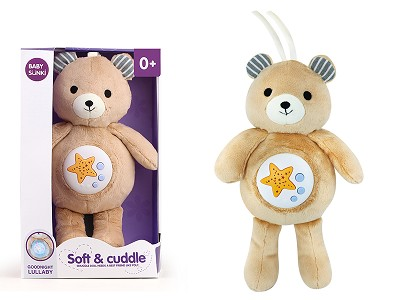 Plush Bear With Projection