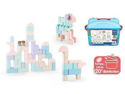 Soft Plastic Building Blocks 51pcs