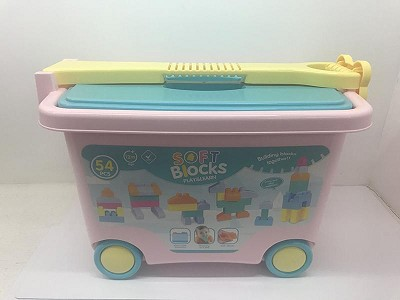 Soft Plastic Building Blocks 54pcs