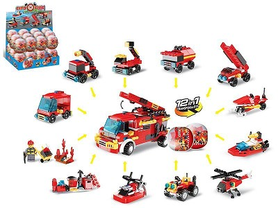 Fire Control Series Building Blocks (12)24PCS