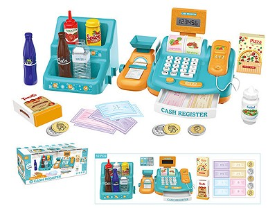 Cash Register(Calculator Function,Button Sound,Sound Amplifying Function)