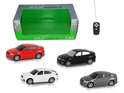 1:24Two Wireless Simulation Of BMW X6 Remote Control Car