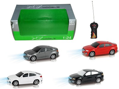 1:24 Two Wireless Simulation Of BMW X6 Remote Control Car With Light