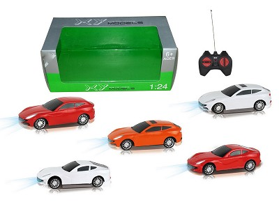 1:24 Four Wireless Simulation Ferrari Remote Control Car With Light