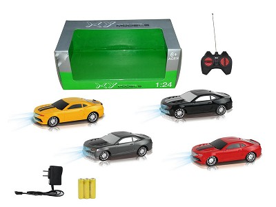 1:24 Four Wireless Transformers Bumblebee R/C Car With Light