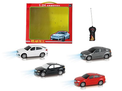 1:24 Two Wireless Simulation Of BMW X6 Remote Control Car With Light(Chinese)