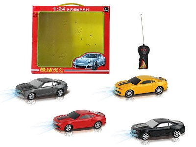 1:24Two Wireless Transformers Bumblebee Remote Control Car With Light(Chinese)