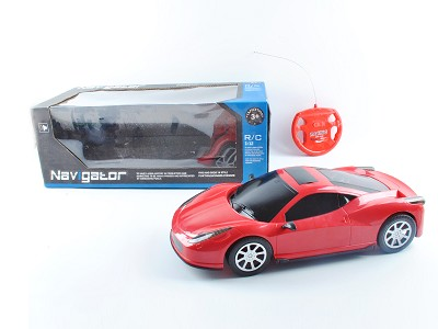 1:12 2CH Simulated Ferrari 458 Radio Control Car With Light And Music